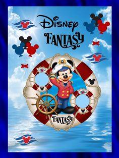 Disney fantasy journal Album by Kim (Kmprovax) on Photobucket Disney Fantasy Cruise, Disney Cruise Door, Disney Cruise Ships, Disney Vacations, Disney Trips, Disney Dream, Disney Magic, Disney Art, Disney Stuff