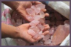 500g Natural cristal de cuarzo rosa gemas piedra Original de piedra roca minerales venta al por mayor