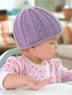 Hug CapThis knit  pattern is available as a free download... Download Pattern: Hug Cap