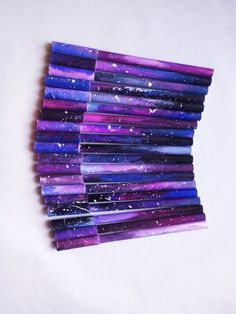 Original pen galaxy pen stars cosmos cute pen made par BetkaArt