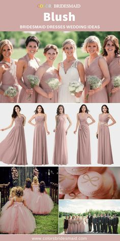 Blush Bridesmaid Dresses. Blush Pink Bridesmaid DressesWedding  BridesmaidsBeautiful ... 1db5c1992bd2