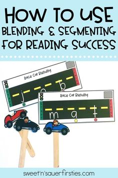 I love using a variety of multi-sensory activities and reading strategies to build phonemic awareness skills in my students. Learn more about these simple, hands-on activities I use, along with reading strategies that I implement in order to build confident readers in my classroom. My students love using Play-Doh, magnetic wands, and MORE to learn blending and segmenting!