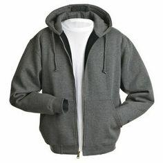 Dri Duck Crossfire Men's Lined Hooded Zip Sweatshirt
