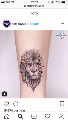Super Tattoo Lion Minimalist Ideas - My list of best tattoo models Leo Tattoos, Mini Tattoos, Trendy Tattoos, Forearm Tattoos, Body Art Tattoos, Small Tattoos, Tattoo Thigh, Tatoos, Small Lion Tattoo For Women