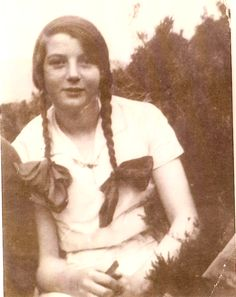 My mother (Rose) at the age of 14