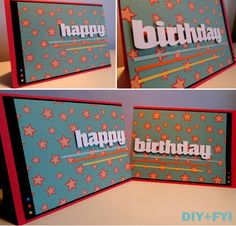 birthday cards for two!