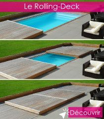piscine amenagement terrasse - Equipements et accessoires piscine sécurité - Le Rolling Deck