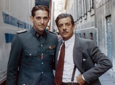 A good gentleman perfectly knows the weapons of his job. Giancarlo Giannini a truly style icon who represents elegance ad italian charme.