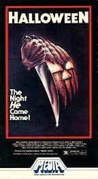 Halloween VHS Vintage Horror Movie