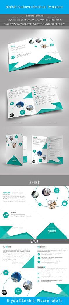 Professional medical brochure design Brochure Templates - technology brochure template