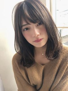 trendy-hairstyles-for-girls - Fab New Hairstyle 1 Work Hairstyles, Permed Hairstyles, Little Girl Hairstyles, Trendy Hairstyles, Beautiful Hairstyles, Japanese Beauty, Asian Beauty, Medium Hair Styles, Short Hair Styles
