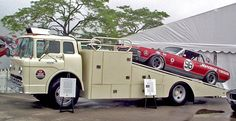 Pin by indycrmac on Race car haulers | Pinterest