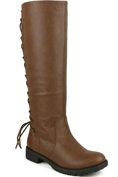 Back Lace Up Knee High Boots Winter Boots Womens Vegan *** Read more  at the image link.
