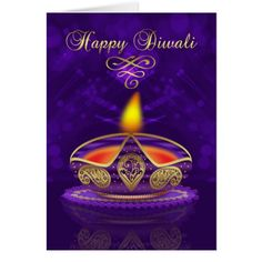 Diwali Greeting Card In Gold And Purple With Light A stylish Diwali card that is also timeless, with a beautiful lamp lighting your way to a happy Diwali and bringing love and joy, with blended bokeh lights in the background. Diwali Cards, Diwali Greeting Cards, Diwali Greetings, Diwali Wishes, Custom Greeting Cards, Diwali Festival Of Lights, Happy Diwali Images, Diwali Rangoli, Birthday Backdrop