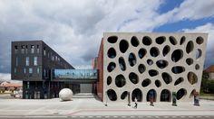 The new theatre in Pilsen