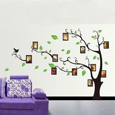 Large Family Photo Frame Tree Home Wall Decal Art Removable Sticker Mural Paper
