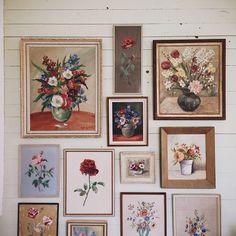 wallflowers via finelittleday.