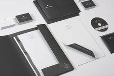 45款國外公司信紙和信封設計
