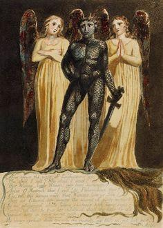 William Blake - Europe: A Prophecy, 1794 William Blake Paintings, William Blake Art, William Turner, Harry Clarke, English Poets, Esoteric Art, Kay Nielsen, Arthur Rackham, Morgan Library