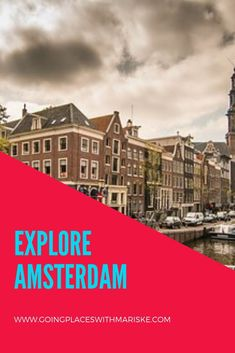 Explore Amsterdam with Trafalgar With the buzz of a big city and charm of a little village, let Amsterdam's tree-lined canals captivate you. Amsterdam Holidays, Passport Travel, Amsterdam Travel, Travel Essentials, Weekend Getaways, Italy Travel, Travel Pictures, Traveling By Yourself, Travel Destinations