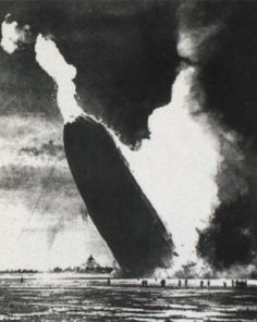 """The Photograph That Destroyed an Industry """"Hindenburg"""" Murray Becker, 1937"""