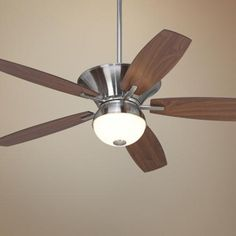 "52"" Casa Pacifica Brushed Nickel Ceiling Fan 