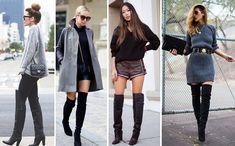 Tendência Inverno 2015: Bota Over The Knee