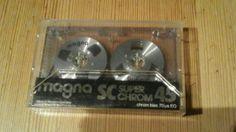 Magna SC SUPER chrom 45 Audio Cassette,Leerkassette, Tape, MC