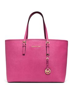 Pink is always a good idea. MICHAEL Michael Kors Jet Set Tote