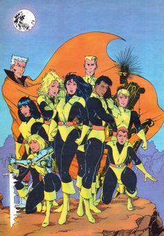 New Mutants by Salvador Larroca