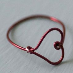 DIY heart ring!