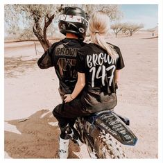 Dirt bike shirt toddler adult motocross freestyle dirt bikes super cross racing riding dirt track bike bmx name & number dirt bike girlfriend Dirt Bike Couple, Motocross Couple, Motorcycle Couple, Dirt Bike Girl, Bike Bmx, Dirt Bike Racing, Bike Rides, Road Bike, Dirt Biking
