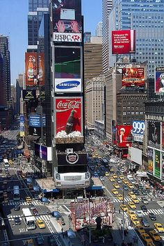 Time Square - Click image to find more Travel Pinterest pins