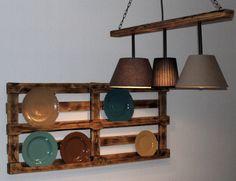 Tellerregal & Esstischlampe by Reifenberger Individual Möbel Köln