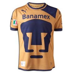 Amazon.com: Pumas UNAM 12/13 Youth Home Soccer Jersey: Clothing