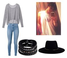 """""""Ashton's Girl"""" by jeiliannev on Polyvore featuring Victoria's Secret, Zimmermann, 7 For All Mankind and Replay"""