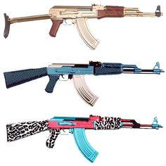 girly guns lol