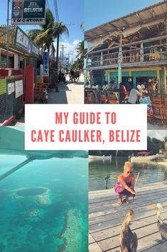 If you are planning a trip to the gorgeous Caye Caulker, Belize, check out my complete guide to help Top Places To Travel, Us Travel Destinations, Belize Vacations, Belize Travel, Romantic Vacations, Romantic Travel, Caye Caulker Belize, San Pedro Belize, Sweden Travel