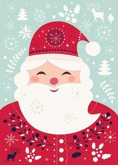 Santa Claus Christmas ilustration
