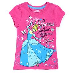 ea643aa66d93 Disney Baby Cinderella Toddler Girl s Graphic T-Shirt - Courageous   Kind