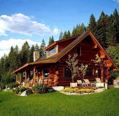 1000 ideas about building a log cabin on pinterest log for How to build a butt and pass log cabin