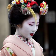 Demure geisha