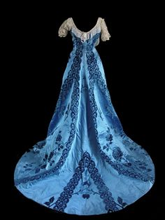 Image detail for -Item #-20074 Charles Frederick Worth Trained Ball Gown 1890's at ...
