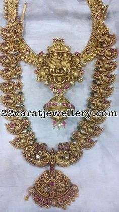 Latest Collection of best Indian Jewellery Designs. Indian Wedding Jewelry, Bridal Jewelry, Gold Jewelry, India Jewelry, Temple Jewellery, Antique Necklace, Antique Jewelry, Antique Gold, Indian Jewellery Design