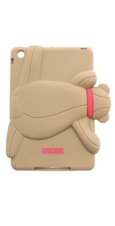 Ashlees Loves: MOSCHINO info @ashleesloves.com #Moschino #Bear #iPadMini #case #designer #fashion #accessories #style