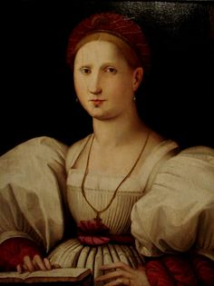 Portrait of a Woman by Paolo Zacchia, ca. 1530.