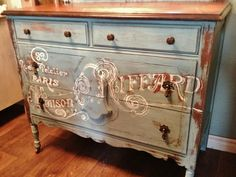 Chest Option Repurposed Gems: A Little French Dresser
