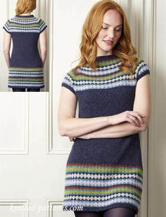 Free knitting pattern tunic dress
