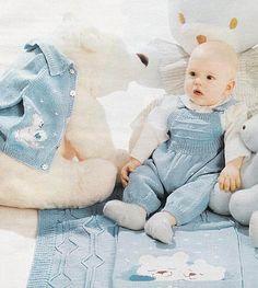 вязание для новорожденных спицами