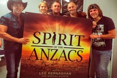 Spirit of the Anzacs now available on Custom Karaoke CD+G, DVD and Download in MP3+G